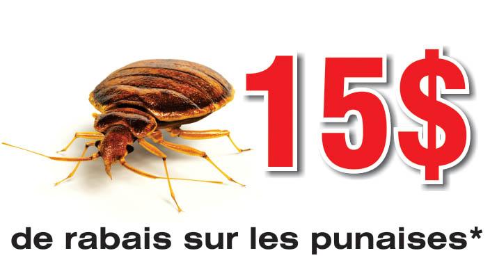 Coupons Rabais Extermination Punaises de Lit | Guet-Apens Extermination